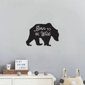 Born To Be Wild Wall Decal