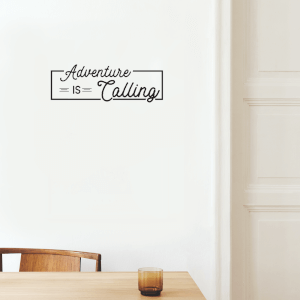 Adventure Is Calling Wall Art Vinyl