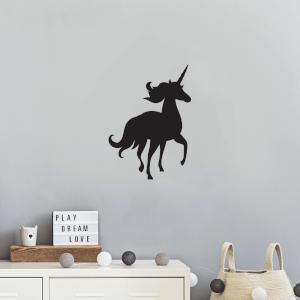 Running Unicorn Wall Decal