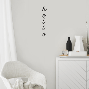 Hello Wall Art Vinyl