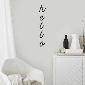 Hello Wall Decal