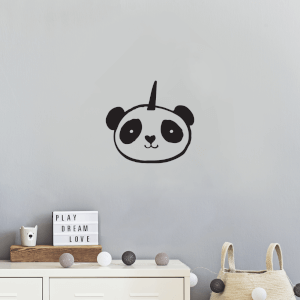 Pandacorn Wall Decal
