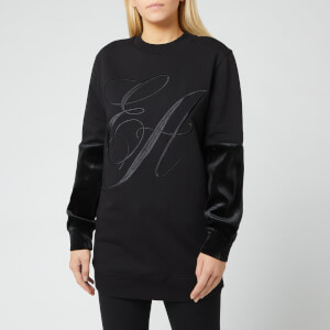 Emporio Armani Women's Logo Sweater - Black