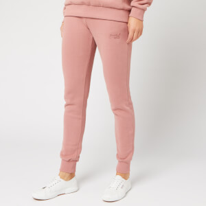Superdry Women's Ol Elite Joggers - Smoke Rose