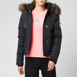 Superdry Women's Everest Ella Bomber Jacket - Black