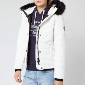Superdry Women's Icelandic Jacket - Optic