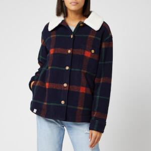 Superdry Women's Lamber Jacket - Navy Check
