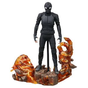 Hot Toys Spider-Man: Far From Home MM Action Figure 1/6 Spider-Man (Stealth Suit) Deluxe Version 29cm