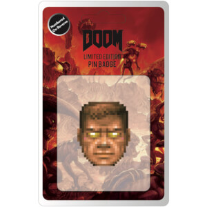 DOOM Limited Edition Enamel Pin Badge