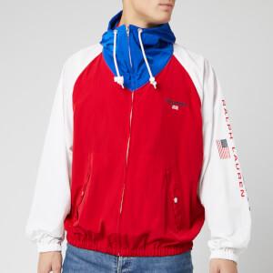 Polo Sport Ralph Lauren Men's OG Bucket Windbreaker - Red/White/Sapphire