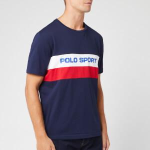 Polo Sport Ralph Lauren Men's Block Logo T-Shirt - Cruise Navy
