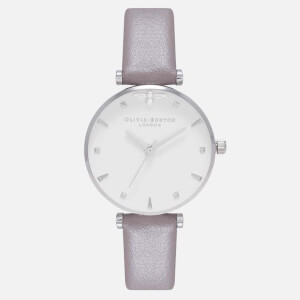 Olivia Burton Women's Queen Bee Watch - London Grey and Silver