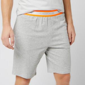 Calvin Klein Men's Sleep Shorts - Grey Heather