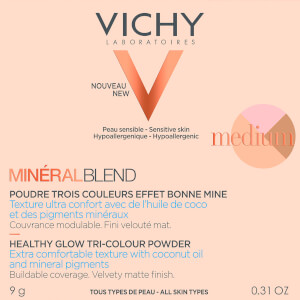Vichy Mineralblend Tri-Colour Medium Powder 9g