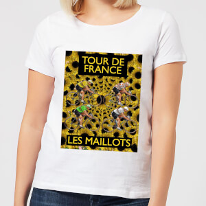 Mark Fairhurst TDF Les Maillots Women's T-Shirt - White