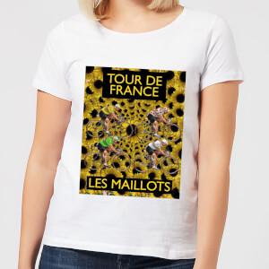 Mark Fairhurst TDF Les Maillots Women's T-Shirt - White