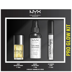 NYX Professional Makeup Pro Glow Face and Lip Gift Set (Worth £29.00)