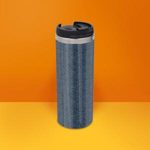 Motherboard Pattern Stainless Steel Travel Mug