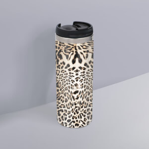 Animal Print Stainless Steel Travel Mug