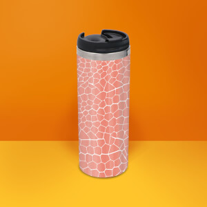 Snake Skin Stainless Steel Travel Mug