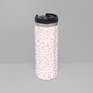 Small Cheetah Stainless Steel Travel Mug
