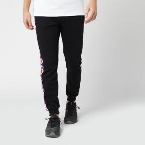Kappa Men's Authentic La Barno Fleece Sweatpants - Black/Blue