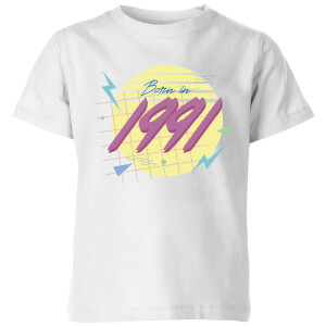Born In 1991 Kids' T-Shirt - White