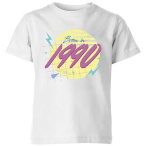 Born In 1990 Kids' T-Shirt - White