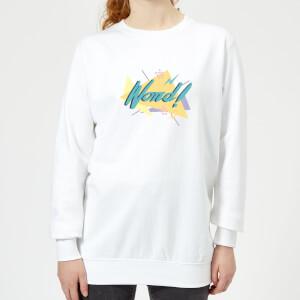 Word! Women's Sweatshirt - White
