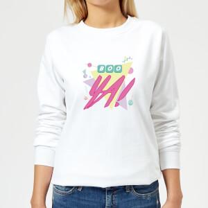 Boo Ya! Women's Sweatshirt - White