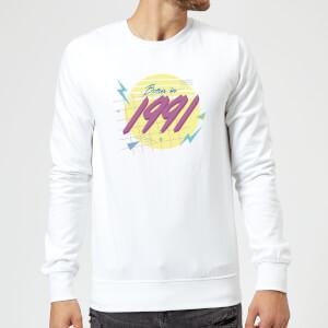 Born In 1991 Sweatshirt - White