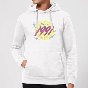 Born In 1991 Hoodie - White