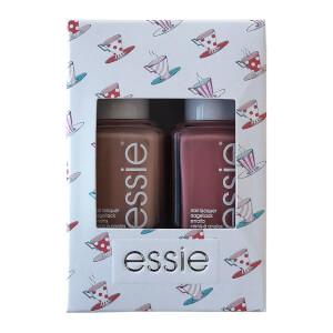 essie Tea for Two Nudes Nail Polish Duo Kit 2 x 13.5ml