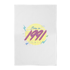 Born In 1991 Cotton Tea Towel