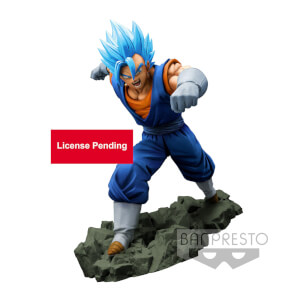 Banpresto Dragon Ball Z Dokkan Battle Collab Super Saiyan God Super Saiyan Vegetto Statue