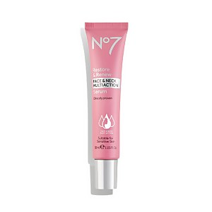 Boots No7 Restore & Renew Multi Action Face & Neck Serum (Various Sizes)