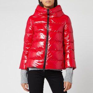 Herno Women's Gloss Padded Jacket - Red