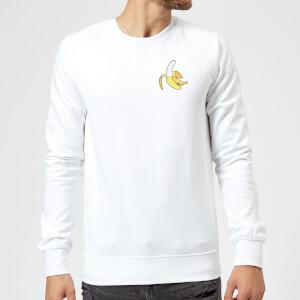 Small Banana Sweatshirt - White