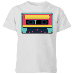 Cassette Tape Kids' T-Shirt - Grey