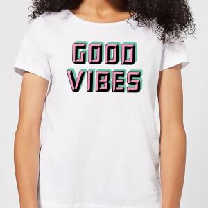 Good Vibes Women's T-Shirt - White