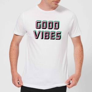 Good Vibes Men's T-Shirt - White