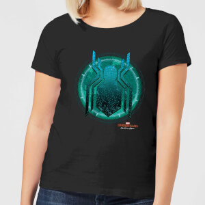Spider-Man Far From Home Stealth Globe Women's T-Shirt - Black