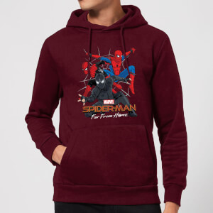 Spider-Man Far From Home Multi Costume Hoodie - Burgundy