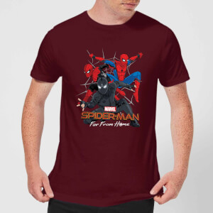 Spider-Man: Far From Home Meerdere Outfits t-shirt - Wijnrood