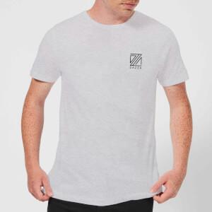 Dazza Pocket Text Men's T-Shirt - Grey