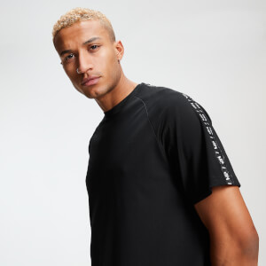 Double Tape Tricot T-Shirt - Schwarz
