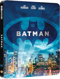 Batman 4K UHD (incluye Blu-ray 2D) - Steebook Edición Limitada Exclusivo Zavvi