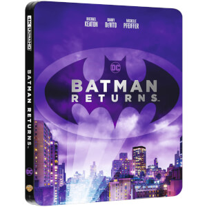 Exclusivité Zavvi - Steelbook Batman, Le Défi (Batman Returns) - 4K Ultra HD (Blu-ray 2D Inclus)