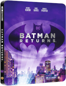 Batman Returns - 4K Ultra HD Zavvi UK Exclusive Steelbook (Includes 2D Blu-ray)