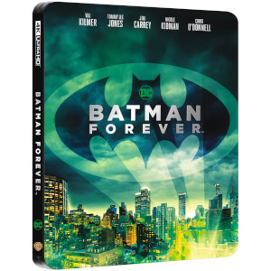 Batman Forever - 4K Ultra HD Zavvi Exclusive Steelbook (Includes 2D Blu-ray)